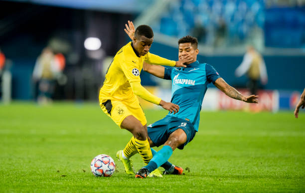 Youssoufa Moukoko becomes Champions League youngest player