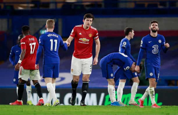 Chelsea and Manchester United share spoils in dull affair