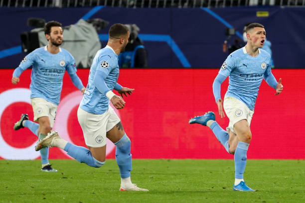 Foden fires Guardiola's City into UCL last-four