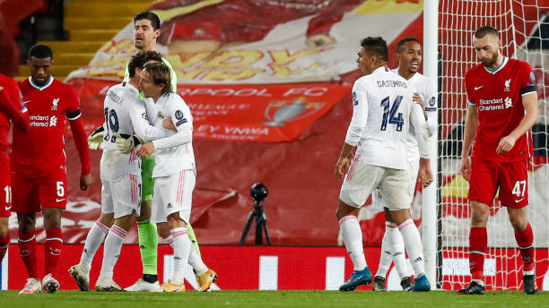 Madrid withstand Liverpool pressure to reach UCL semis