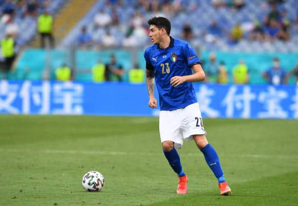 Italy and Inter defender Alessandro Bastoni (Photo by Claudio Villa/Getty Images)