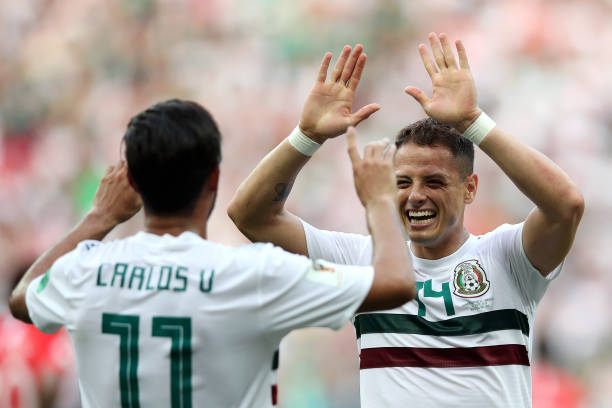 Sadly, Mexican duo Carlos Vela and Chicharito will both miss the All-Star game in California (Photo by Clive Brunskill/Getty Images)