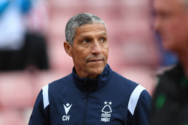 Chris Hughton's Forest join Liverpool in this BGP article as they face rivals Derby tomorrow! (Photo by Jon Hobley/MI News/NurPhoto via Getty Images)