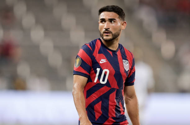 USMNT star Cristian Roldan will captain the MLS team at the All-Star game! (Photo by John Dorton/ISI Photos/Getty Images)