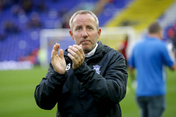BIRMINGHAM, ENGLAND - AUGUST 18: Head Coach Lee Bowyer before the Sky Bet Championship match between Birmingham City and AFC Bournemouth at St Andrew's Trillion Trophy Stadium on August 18, 2021 in Birmingham, England. Juventus (Photo by Robin Jones - AFC Bournemouth/AFC Bournemouth via Getty Images)